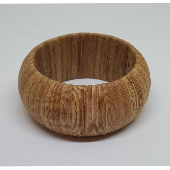 ff0cc5a3f1f Jewelry   Vintage Large Chunky Wood Cuff Bangle Bracelet   Poshmark